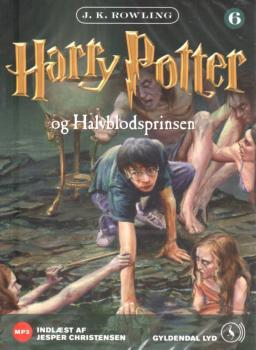 Harry Potter DANISH audiobook -  Og Halvblodsprinsen - 2 MP3 CD