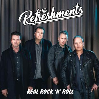 The Refreshments –               Real rock'n'roll 2019 Neu