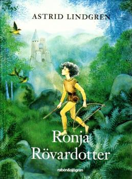 Astrid Lindgren book Swedish - Ronja Rövardotter 2018 - new