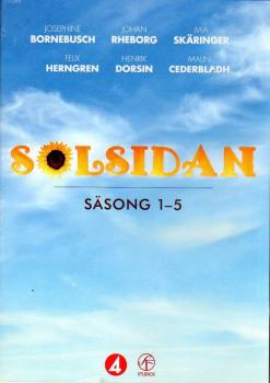 SOLSIDAN BOX 2017 - STAFFEL 1-5 SÄSONG - 10 DVDs