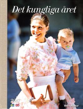 2017 - Det Kungliga året - The Swedish royal family book of the year NEW