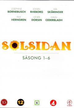 SOLSIDAN BOX 2019 - STAFFEL 1-6 SÄSONG - 12 DVDs