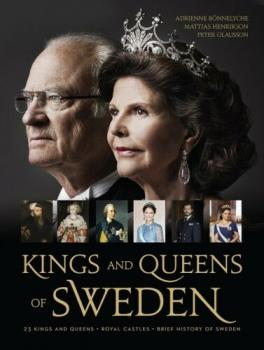 Kings and Queens of Sweden + Royal Castles, Silvia Prinzessin Victoria Madeleine