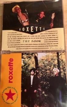 2 CD Maxi Single Roxette The Look + Fading like a flower