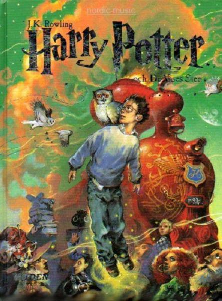 Harry Potter book Swedish - och de vises sten - 2017