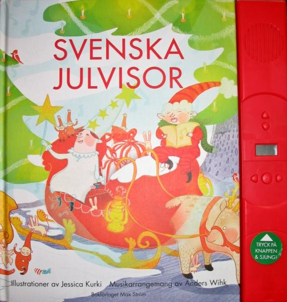 book 33 christmas songs jul swedish sheet music melody music svenska julvisor - Swedish Christmas Songs