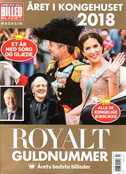 Princess Mary Kongehuset 2018 Queen Margrethe, Royal Danmark Guldnummer