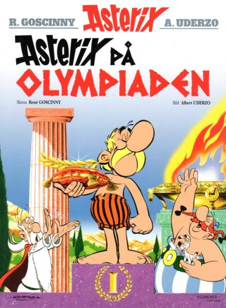 Asterix Swedish Nr. 8 - På Pa Olympiaden 2016 - NEW